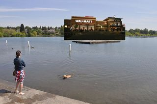 Wal-mart-green-lake